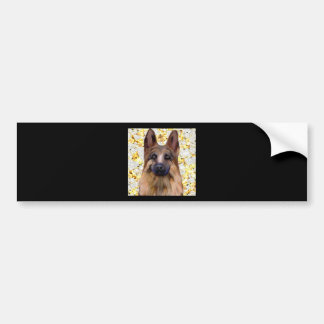 German Shepherd Bling Bumper Sticker