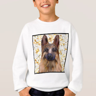 German Shepherd Bling Sweatshirt