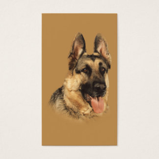 German Shepherd Breeder Business Card
