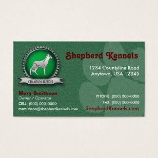 German Shepherd Breeder / Kennel Business Card