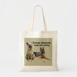 German Shepherd Buddies Tote Bag