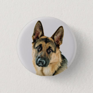 German Shepherd Button
