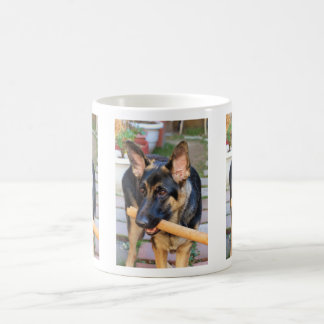 German Shepherd by Shirley Taylor Coffee Mug