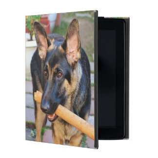 German Shepherd by Shirley Taylor iPad Folio Case