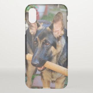 German Shepherd by Shirley Taylor iPhone X Case