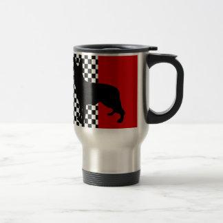 GERMAN SHEPHERD CAR COFFEE MUG