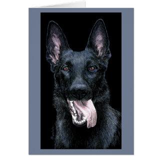 """German Shepherd Card - """"Tootsie"""""""