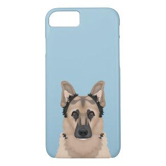 German Shepherd Cartoon iPhone 7 Case