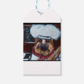 German Shepherd Chef Gift Tags