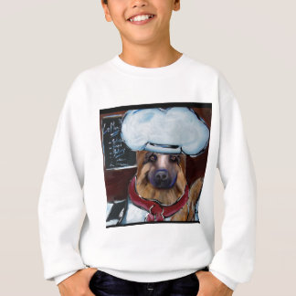 German Shepherd Chef Sweatshirt