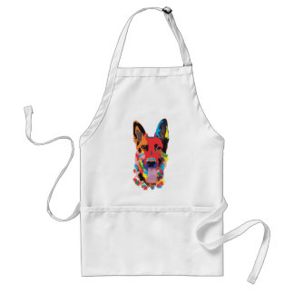 German shepherd color standard apron