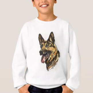 German Shepherd Color Sweatshirt