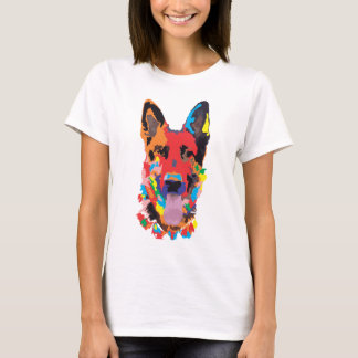 German shepherd color T-Shirt