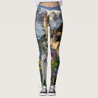German Shepherd Country Leggings