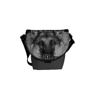 German Shepherd Courier Bag