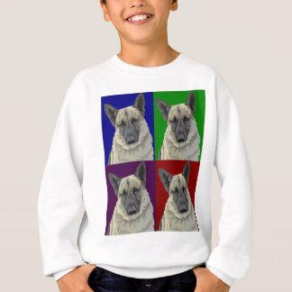 German Shepherd Dark Collage Sweatshirt