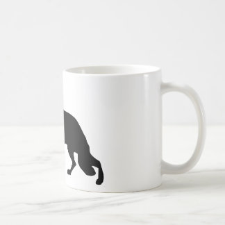 German Shepherd Dog black Coffee Mug