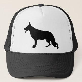 German Shepherd Dog black Trucker Hat