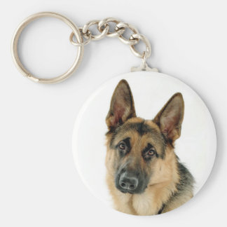 German Shepherd Dog Budget Key Chain