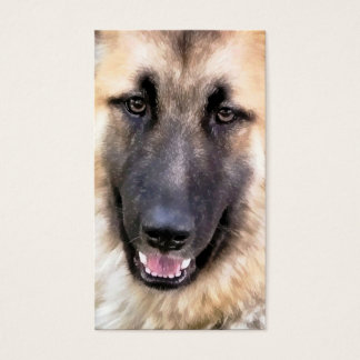 GERMAN SHEPHERD DOG BUSINESS CARD