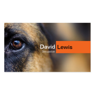 German Shepherd Dog Business Cards