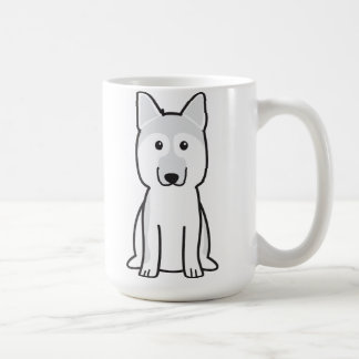 German Shepherd Dog Cartoon Coffee Mug