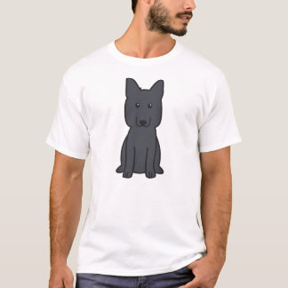 German Shepherd Dog Cartoon T-Shirt