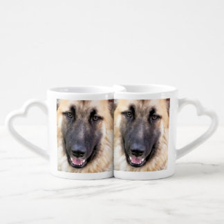 GERMAN SHEPHERD DOG COFFEE MUG SET