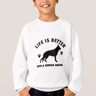 German Shepherd dog Design Sweatshirt