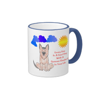 German Shepherd Dog Every Day Is A Good Day Mug