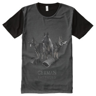German Shepherd Dog  - GSD All-Over Print T-Shirt