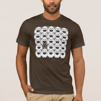 German Shepherd Dog in the Sheep T-Shirt
