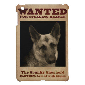 German Shepherd Dog iPad Mini Cover