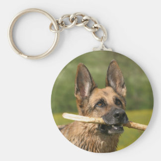 German Shepherd Dog Keychain