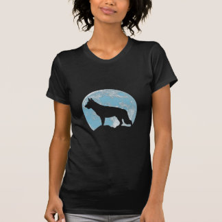 German Shepherd Dog Moon T-Shirt