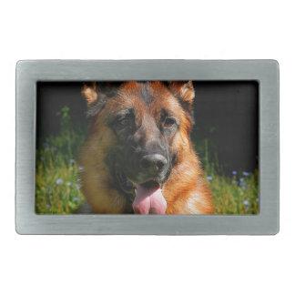 German Shepherd Dog Pet Belt Buckle