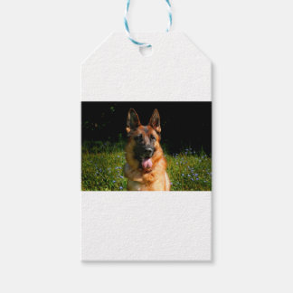 German Shepherd Dog Pet Gift Tags