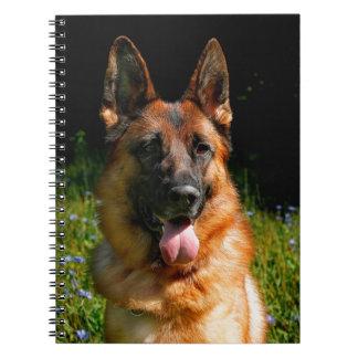 German Shepherd Dog Pet Notebook