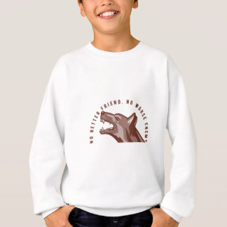 German Shepherd Dog Text Sweatshirt