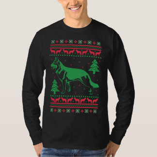 German Shepherd Dog Ugly Sweater Christmas