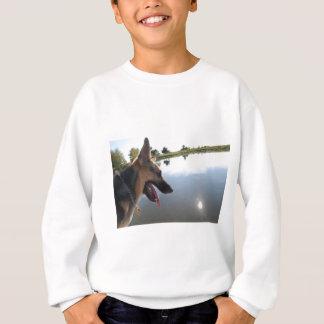 German Shepherd/Enjoying the View Sweatshirt