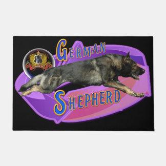 German Shepherd Full Stride Doormat