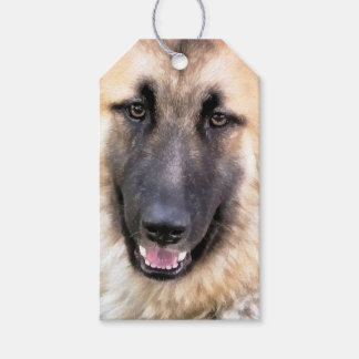 GERMAN SHEPHERD GIFT TAGS