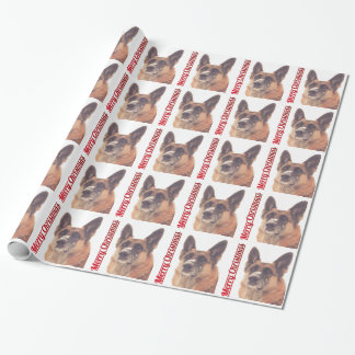 German Shepherd Holiday Wrapping Paper