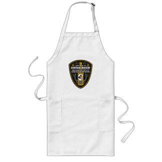 German Shepherd I Just Want To Drink Beer Long Apron