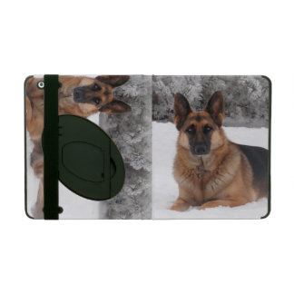 German Shepherd iPad Folio Case