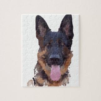 German shepherd jigsaw puzzle