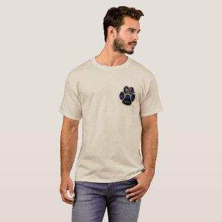 German Shepherd K-9 Unit Double Sided T-Shirt