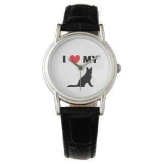 """""""German Shepherd"""" Leather Watch"""
