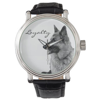 German Shepherd Loyalty Watch